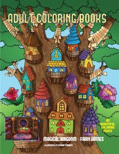 Adult coloring book: Fairies