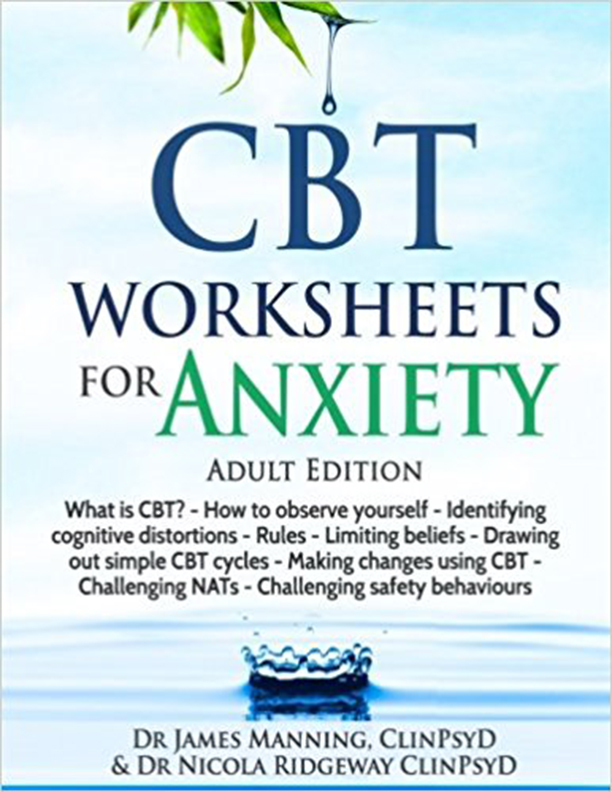 Cbt Worksheets For Anxiety Downloadable Pdf A Simple Cbt Workbook